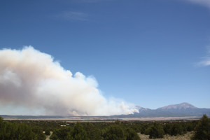 eastpeak fire from Navajo Ranch 220PM